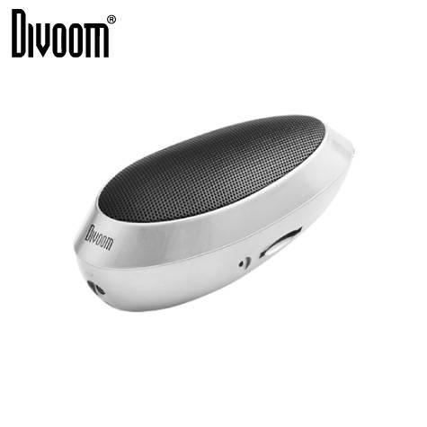 DIVOOM iTour-wow音樂精靈(白) 超重低音可充式插卡喇叭【福利品出清】