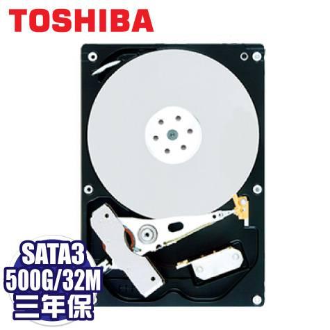 TOSHIBA 500GB(DT01ACA050) /7200轉/SATA3/32MB/三年保固內非人損直接換新加碼贈品 群加 Micro USB OTG 18cm 傳輸線【價值299元】 × 1