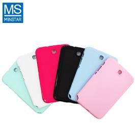 粉彩髮絲保護背殼 / 白 / MINSTAR系列:Samsung Galaxy Note 8.0 N5000、N5010 專用 (限量優惠商品,賣完為止)【福利品出清】