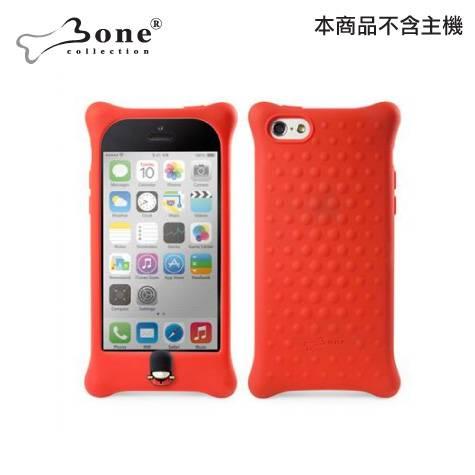 Bone iPhone 5C泡泡保護套-紅