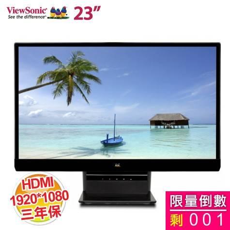 優派 23吋 VX2370Smh-LED /IPS硬板/HDMI/無邊框/SRS喇叭/一年無亮點保固 (美型)【福利品出清】