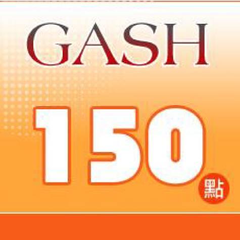 GASH 150點 點數卡(智冠)