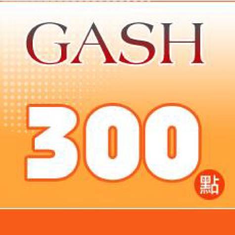 GASH 300點 點數卡(智冠)