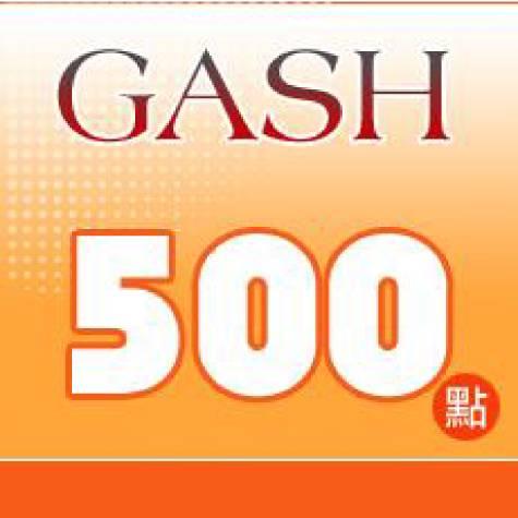 GASH 500點 點數卡(智冠)
