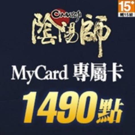 MyCard 陰陽師專屬卡1490點(智冠)