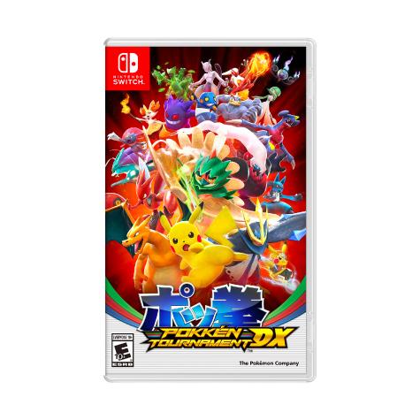 【Switch遊戲軟體】任天堂 Nintendo Switch 寶可拳 DX (日文版)