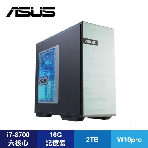 華碩 電競工作站 ASUS GS30 90SF00V1-M00030 /i7-8700/顯卡選購/16G/2TB/700W 80+金牌/W10pro/3年到府維修服務