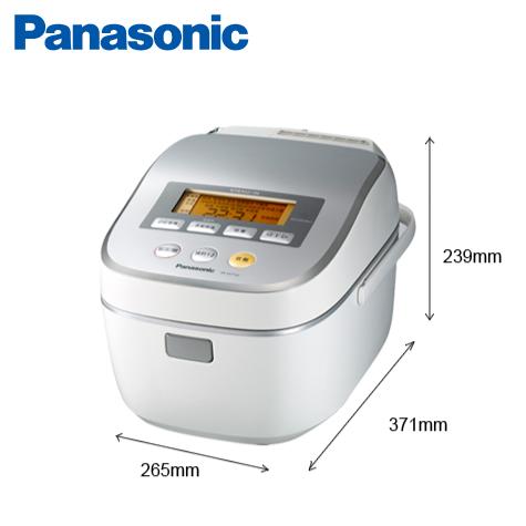 Panasonic 6人份蒸氣式IH電子鍋 SR-SAT102/日本製