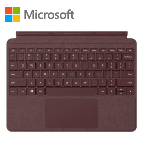 微軟Microsoft Surface Go 專屬鍵盤-酒紅色