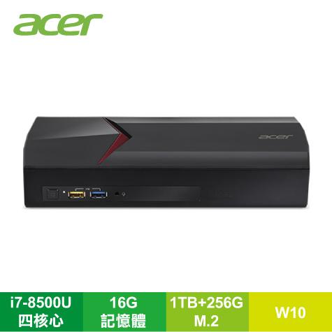 宏碁 acer Nitro Stream NS-600 直播機/i7-8500U/16G/1TB+256G M.2/WiFi/Win10/Streamlabs/Thunderbolt/HDMI IN-