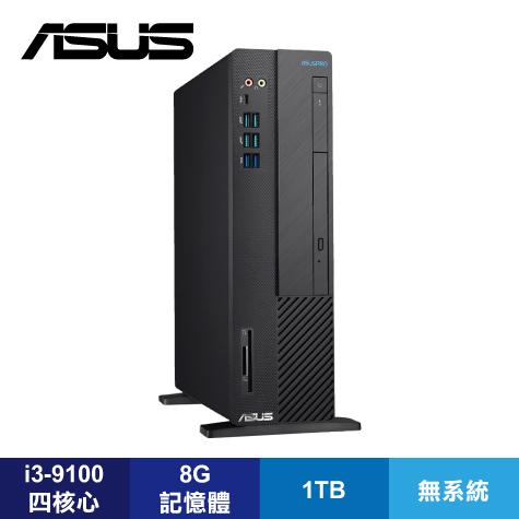 華碩 ASUSPRO M641SC-I39100001D商用桌上型電腦/3-9100/B360/8G/1TB/DVDRW/讀卡機/NON-OS/附鍵盤滑鼠/3年到府服務維修服務