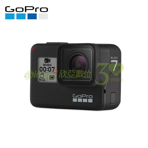 【GoPro】HERO7 BLACK 全方位攝影機 (公司貨)