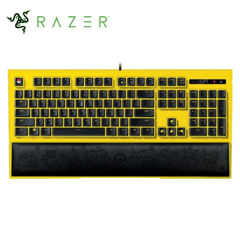 Razer Pikachu 皮卡丘限定款 電競背光鍵盤 英刻
