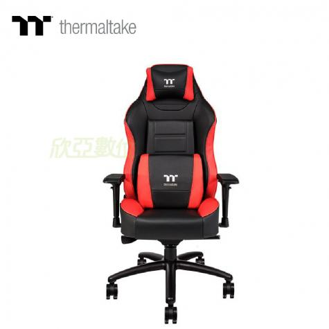 X Comfort 黑紅色電競椅/人體工學設計/鋁合金製腳架/頭枕支撐/高等級氣壓棒支撐