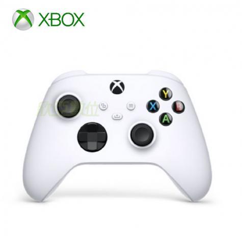 微軟Xbox 無線控制器-冰雪白 SERIES X的版本 Wi-Fi Direct + 藍牙雙無線連線