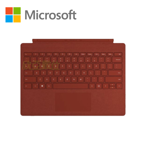 微軟Microsoft Surface Pro 鍵盤-罌粟紅(相容SP3~7Pro)