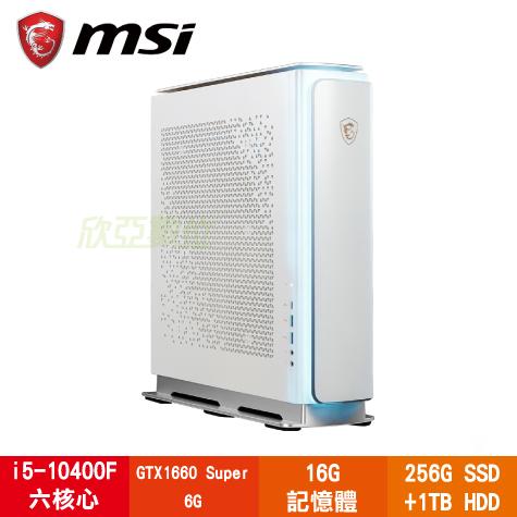 微星 MSI Creator P100A 10SI-256TW創作者電腦(白色)/i5-10400F/GTX1660 Super 6G/B460/16G/256G SSD+1TB HDD/WiFi/W