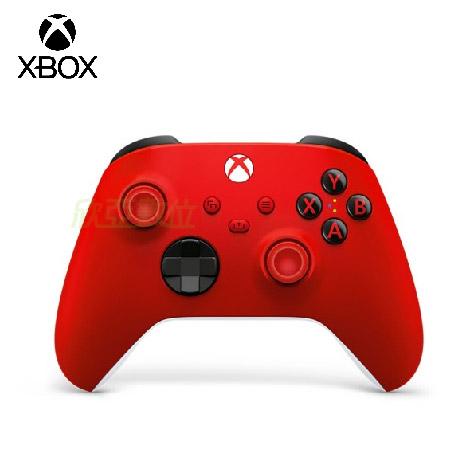微軟Xbox 無線控制器-狙擊紅 SERIES X的版本 Wi-Fi Direct + 藍牙雙無線連線
