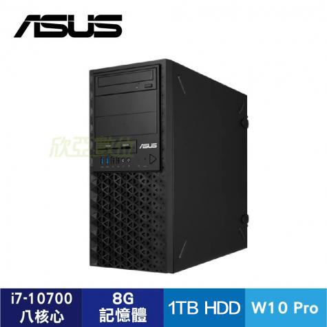 華碩 ASUSPRO  E500 G6 六核工作站(i7-10700/8G/1TB/讀卡機/DVDRW/700W 80+/WIN10 Pro/USB K+M/3年到府維修服務)-90SF0181-M0