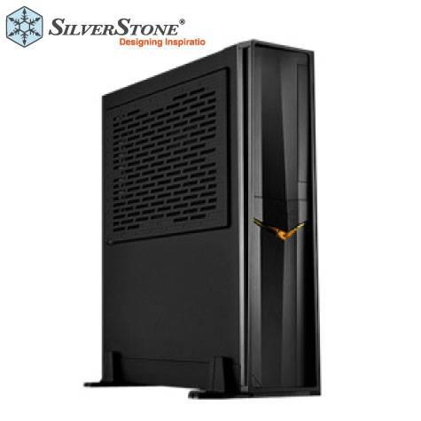 銀欣 SST-RVZ02B 小烏鴉2 電腦機殼-黑 (ITX/顯卡330mm/塔散58mm/限SFX(L)電源)