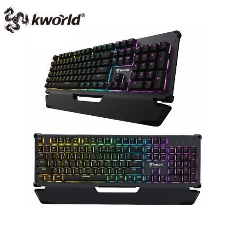 廣寰 光軸電競機械式鍵盤C600/RGB/PBT
