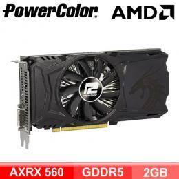 撼訊 AXRX 560 2GBD5-DHA RedDragon(紅龍)/1176MHz/單風扇/三年保固