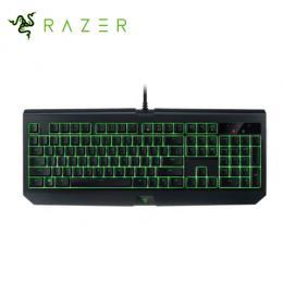 雷蛇Razer BlackWidow Ultimate 黑寡婦蜘蛛終極版 防水機械式鍵盤 綠軸中文/防潑水防塵/Razer™綠軸/綠色背光(RZ03-01703800-R3T1)