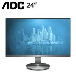 AOC I2490VXQ 24吋 IPS 液晶螢幕【IPS/4ms/D-Sub,HDMI,DP/2W SPK/三年保固】