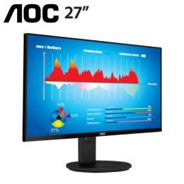 AOC I2790VQ 27吋 IPS 液晶螢幕【AH-IPS/4ms/D-Sub,HDMI,DP,/2W SPK/三年保固】