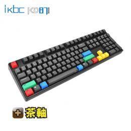 ikbc CD108 機械式鍵盤/櫻桃茶軸中文/PBT鍵帽-黑色
