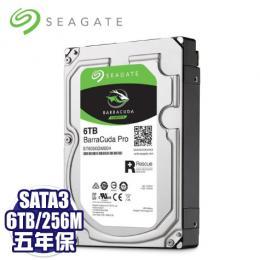 【新梭魚Pro】Seagate 6TB (ST6000DM004)/7200轉/SATA3/256MB/5年保固/2年免費資料救援
