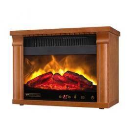 3D立體火焰山電壁爐-棕色