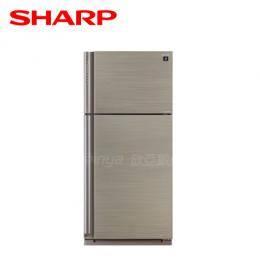 【SHARP夏普】541公升 變頻雙門自動除菌離子冰箱 SJ-PD54V-SL 光耀銀