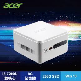 acer RN76 無線充電版迷你電腦/i5-7200U/8G/1TB+256G SSD/WiFi/W10/3年保/DT.BAHTA.001/含acer原廠鍵盤及滑鼠