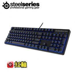 賽睿SteelSeries Apex M500 電競專用機械鍵盤 紅軸英刻/藍光背光【世界頂級電子競技玩家認證】加碼贈中文鍵帽
