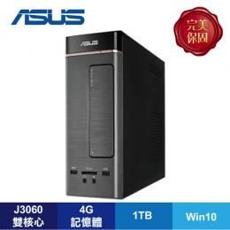 ASUS K20CE-0051A306UMT 桌上型電腦/J3060/4G/1TB/DVD/W10/3年保/ASUS原廠鍵盤及滑鼠