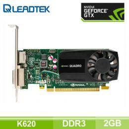麗臺 NVIDIA Quadro K620 工作站繪圖卡 (2GB DDR3/CUDA:384/16cm/128bit/註冊三年到府)