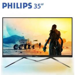 PHILIPS飛利浦 356M6QJAB 35型IPS流光溢彩低藍光液晶螢幕