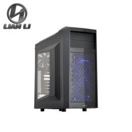 聯力 PC-K5WX 黑色透側電腦機殼 (ATX/U3/下置電源/可拆硬碟架)