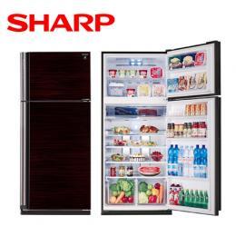 SHARP夏普 583公升變頻雙門自動除菌離子冰箱 SJ-PD58V-BK 晶鑽黑 (送定位安裝)