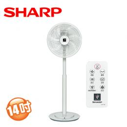 SHARP夏普 14吋自動除菌離子DC電風扇 PJ-H14PGA 【結帳現折】