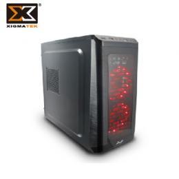 Xigmatek 富鈞 AVF EXTREME 火鳳凰 電腦機殼 ATX/U2*1、U3*1/雙12CM紅光風扇
