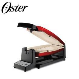 美國Oster DuraCeramic不沾黏7分鐘多功能陶瓷烤盤/三明治機 CKSTCG20R-TECO-082
