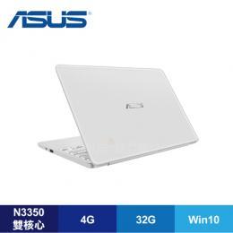 ASUS E203NA-0071AN3350 珍珠白/N3350/4G/32G/11.6吋/1年保/附Macfee 防毒軟體