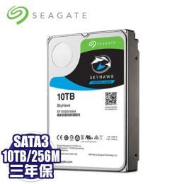 【SEAGATE 希捷】2入組 SkyHawk 監控鷹 監控專用 10TB 3.5吋SATAⅢ 硬碟(ST10000VX0004)