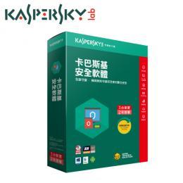 【Kaspersky 卡巴斯基】Kaspersky Internet Security  安全軟體2018 1台裝置1年授權(KIS2018/1D1Y)