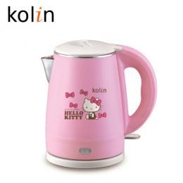 Kolin歌林 Hello Kitty雙層隔熱不鏽鋼快煮壺 KPK-MNR1032 粉紅