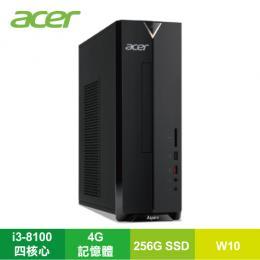 acer Aspire XC-885 小型桌上型電腦/i3-8100/4G/256G SSD/DVD/W10/220W/DT.BAQTA.001/含原廠鍵盤及滑鼠