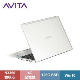 AVITA LIBER 纖薄型筆電 曙光銀/N3350/4G/128G SSD/13.3吋FHD IPS/W10/LAPTOP-AVITA-001-01