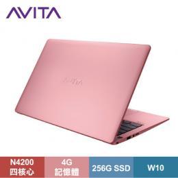 AVITA LIBER 纖薄型筆電 公主粉/N4200/4G/256G SSD/13.3吋FHD IPS/W10/LAPTOP-AVITA-011-002【福利品出清】